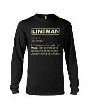 Lineman noun 2020 Long Sleeve Tee thumbnail