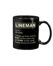 Lineman noun 2020 Mug thumbnail