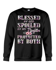 Blessed by God Spoiled By My Pipefitter Crewneck Sweatshirt thumbnail