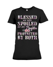 Blessed by God Spoiled By My Pipefitter Premium Fit Ladies Tee thumbnail