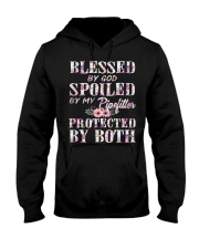 Blessed by God Spoiled By My Pipefitter Hooded Sweatshirt thumbnail