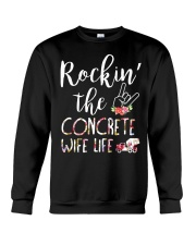 Rockin the Concrete Wife Crewneck Sweatshirt thumbnail