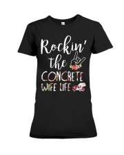 Rockin the Concrete Wife Premium Fit Ladies Tee thumbnail