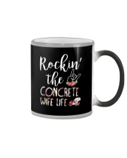 Rockin the Concrete Wife Color Changing Mug thumbnail