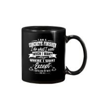 I am a Concrete Finisher Mug thumbnail