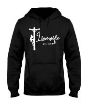 Linewife Est 2019 Hooded Sweatshirt front