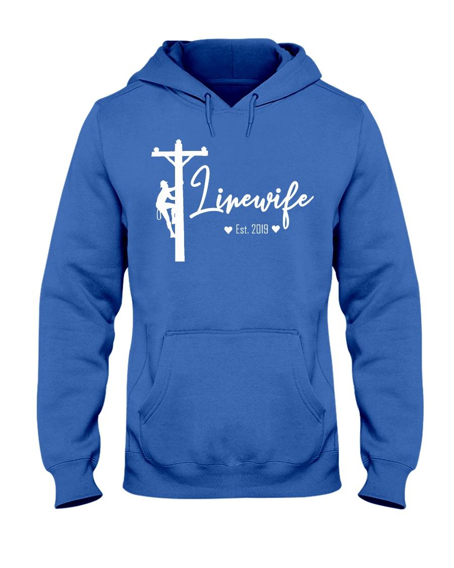 Linewife Est 2019 Hooded Sweatshirt