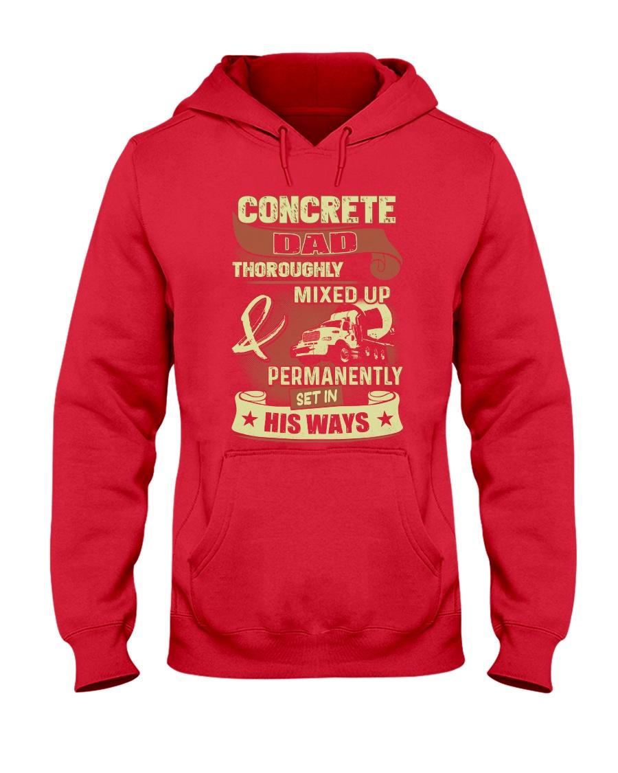 Concrete Dad Hooded Sweatshirt
