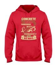 Concrete Dad Hooded Sweatshirt front