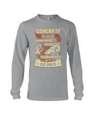 Concrete Dad Long Sleeve Tee front