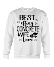 Best Effing Concrete Wife Ever Crewneck Sweatshirt thumbnail