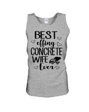 Best Effing Concrete Wife Ever Unisex Tank thumbnail