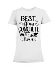 Best Effing Concrete Wife Ever Premium Fit Ladies Tee thumbnail