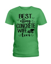 Best Effing Concrete Wife Ever Ladies T-Shirt front