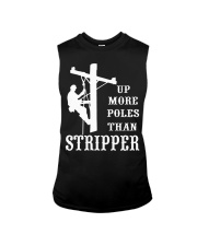 Up more poles than stripper Sleeveless Tee thumbnail