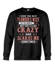 I Have The Best Plumber's wife In The World Crewneck Sweatshirt thumbnail