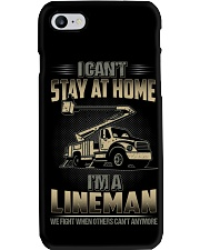 Lineman Can't Stay At Home 2020 Phone Case thumbnail