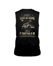 Lineman Can't Stay At Home 2020 Sleeveless Tee thumbnail