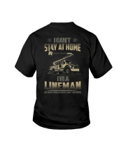 Lineman Can't Stay At Home 2020 Youth T-Shirt thumbnail