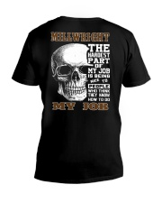 Millwright The Hardest Part Of My Job V-Neck T-Shirt thumbnail