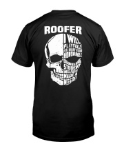 Roofer Skull Classic T-Shirt tile