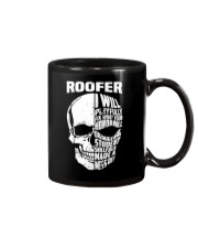 Roofer Skull Mug tile
