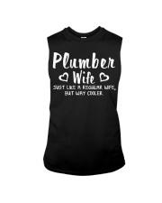 Plumber wife Sleeveless Tee thumbnail