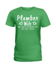 Plumber wife Ladies T-Shirt front