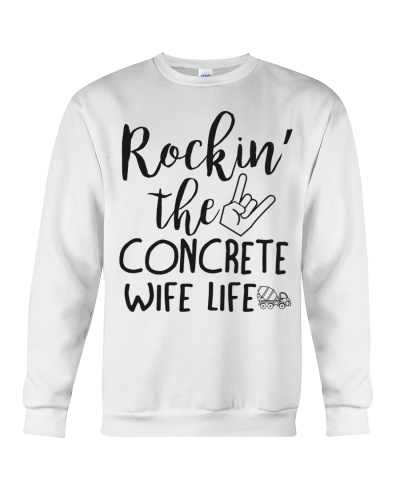 Rockin' the Concrete's Wife life