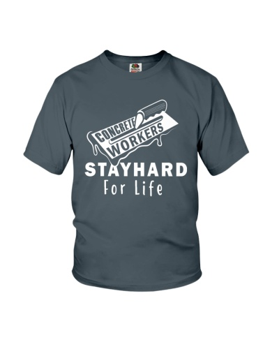 Concrete Workers stayhard for life