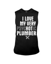 I Love My Very Psychotic Plumber Sleeveless Tee thumbnail