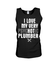 I Love My Very Psychotic Plumber Unisex Tank thumbnail