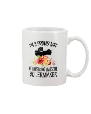 I'm a proud Wife of a freaking awesome Boilermaker Mug thumbnail