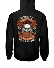 LIMITED CONCRETE FINISHER SHIRT Hooded Sweatshirt back