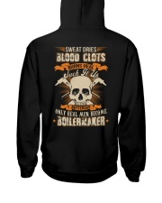 Sweat Dries Blood Clots Burns Heal Suck It Up Hooded Sweatshirt thumbnail