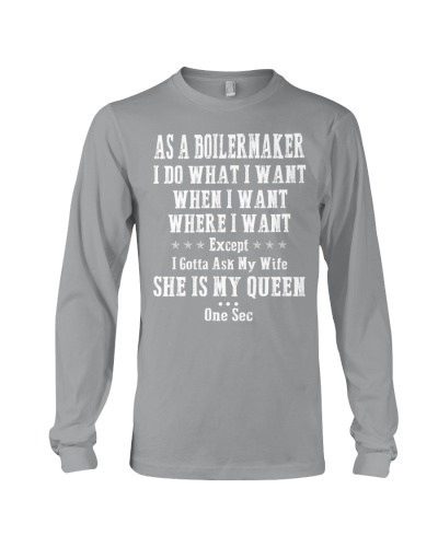 As a Boilermaker