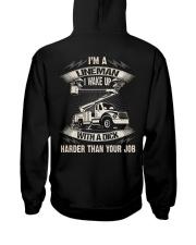 Lineman Wake Up Job 2020 Hooded Sweatshirt thumbnail