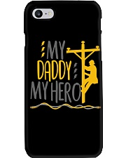 My Daddy My Hero Lineman 2020 Phone Case tile