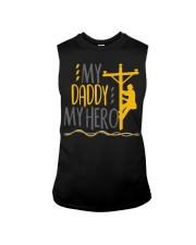 My Daddy My Hero Lineman 2020 Sleeveless Tee tile