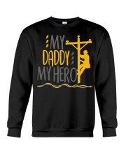 My Daddy My Hero Lineman 2020 Crewneck Sweatshirt tile