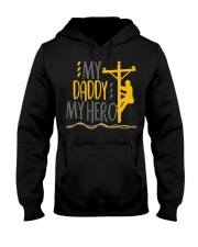 My Daddy My Hero Lineman 2020 Hooded Sweatshirt tile