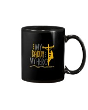 My Daddy My Hero Lineman 2020 Mug tile