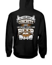 LIMITED CONCRETE FINISHER SHIRT Hooded Sweatshirt thumbnail