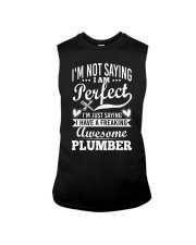 I Have A Freaking Awesome Plumber Sleeveless Tee thumbnail