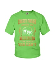Concrete Finisher Youth T-Shirt front