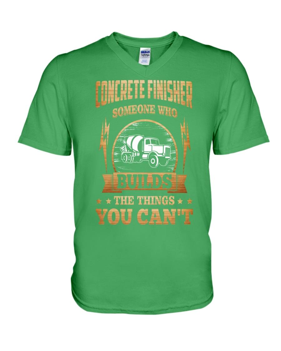 Concrete Finisher V-Neck T-Shirt