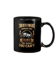 Concrete Finisher Mug tile