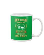 Concrete Finisher Mug front