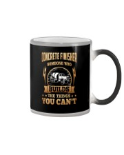 Concrete Finisher Color Changing Mug tile
