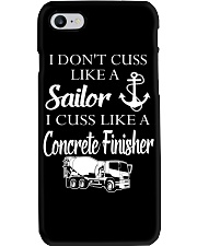 I Cuss Like A Concrete FInisher Phone Case thumbnail